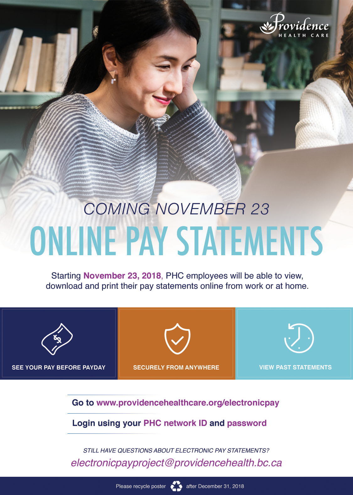 Electronic Pay | Providence Health Care