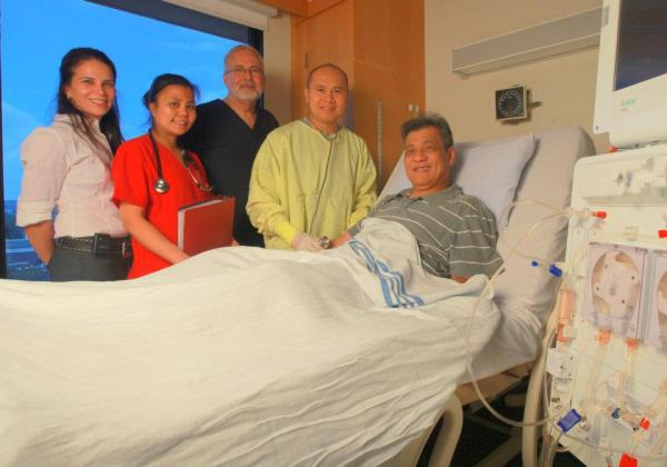 first incentre dialysis program in BC