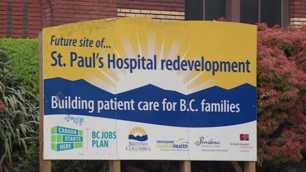 St  Paul's Hospital plan prompts traffic concerns