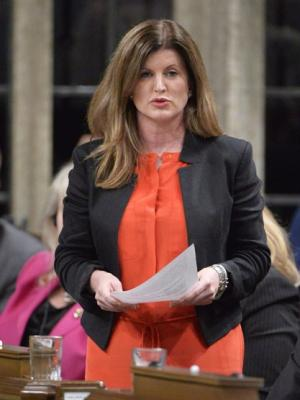 Health Minister Rona Ambrose is shown responding during question period in the House of Commons in Ottawa, Tuesday May 27, 2014 . THE CANADIAN PRESS/Adrian Wyld