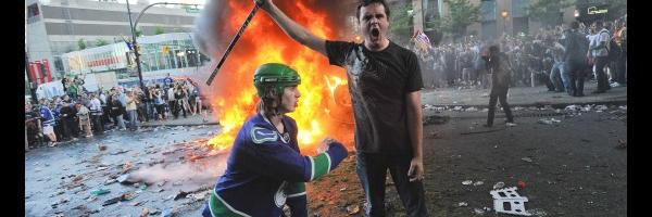 """Medical staff worked with """"military-like precision"""" during the Vancouver hockey riot."""